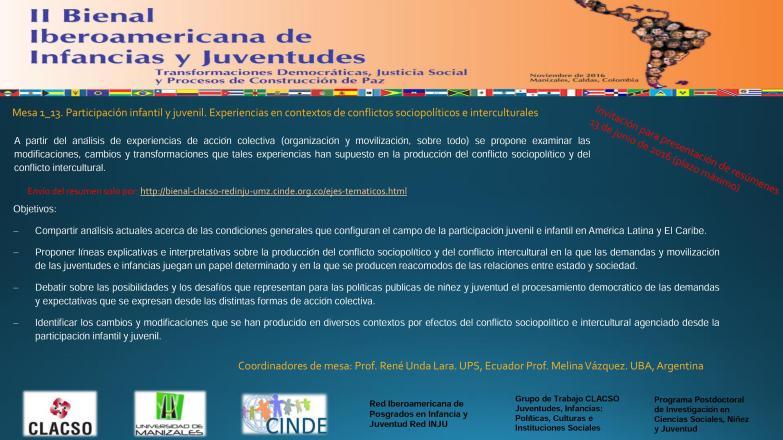 Invitación a resúmenes de ponencias mesa 1_13